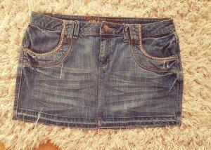 Minirock Jeans Rock