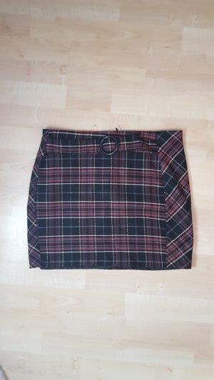 Orsay Skirt black-blackberry-red