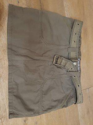 Minirock khaki