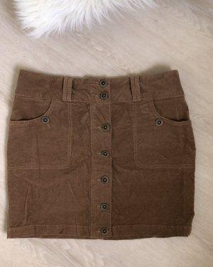 Blind Date Minifalda marrón claro