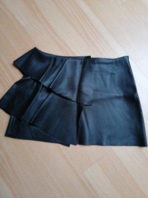 Zara Leather Skirt black