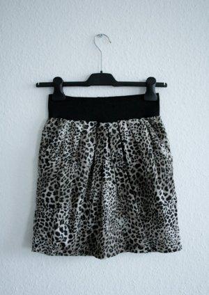 Minirock Leopardenmuster Vero Moda