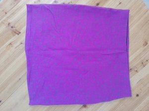 Minirock lila grau Gr. M 38 Sterne neu Mini Rock kurz Stretchrock