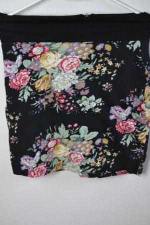 Minirock mit Blumenprint