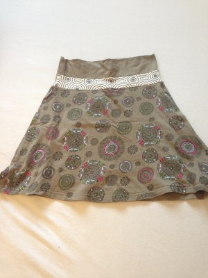 High Waist Skirt multicolored