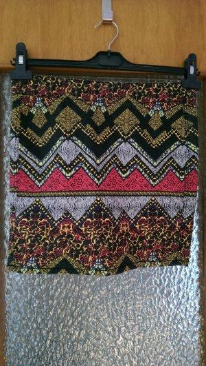 Minirock mit Ethno-Muster