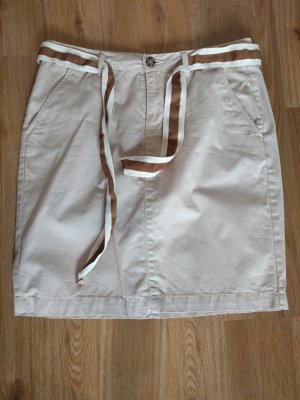 Orsay Miniskirt oatmeal-beige