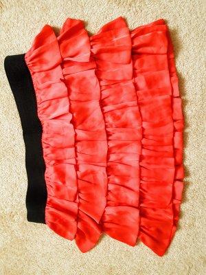Anderne Miniskirt red