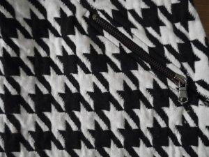 Minirock mit Hahnentrittmuster