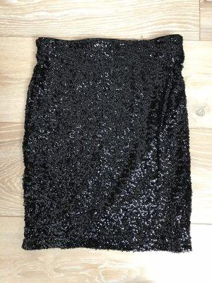 H&M Minifalda negro