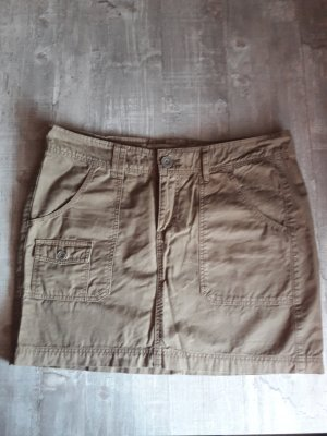 H&M L.O.G.G. Jupe cargo gris brun-gris vert coton