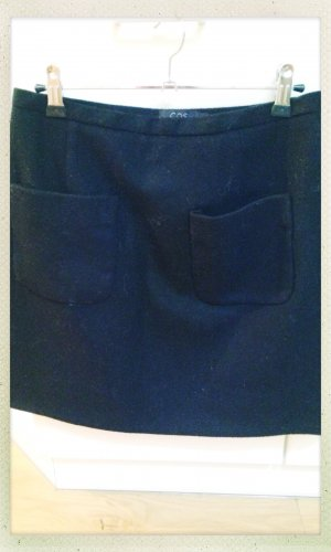 Minirock mit Taschen