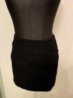 H&M Jupe en laine noir