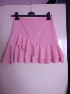 Flounce Skirt multicolored polyester