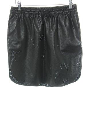 Minirock schwarz Casual-Look