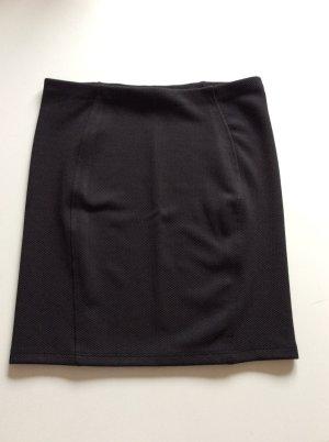 Minirock schwarz Größe 36 Topshop schöne Struktur enganliegend