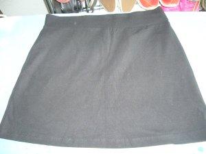 Minirock schwarz H&M XS 34 93% Baumwolle