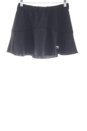 Minirock schwarz sportlicher Stil