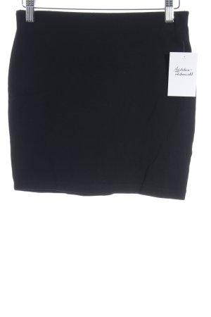 Minirock schwarz Street-Fashion-Look