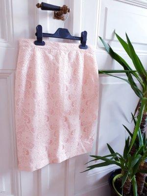 H&M Jupe en dentelle rosé-rose clair