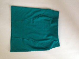 Bershka Mini-jupe bleu cadet polyester