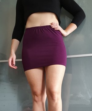 Amisu Miniskirt blackberry-red
