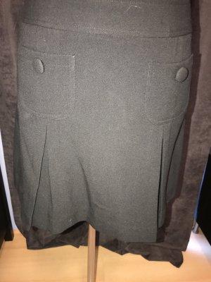 Morgan Plaid Skirt black