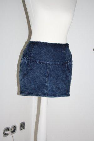 Minirock von Zara mit Nieten