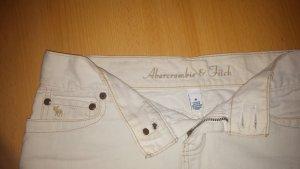 minirock weiß size 0 abercrombie