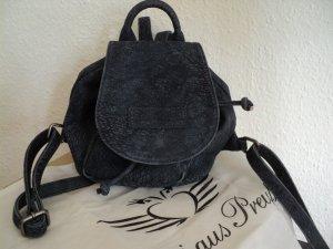 Fritzi aus preußen Backpack slate-gray leather