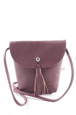 Borsetta mini bordeaux elegante