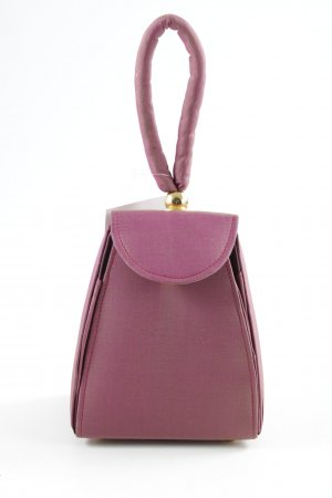 Mini Bag gold-colored-dark red extravagant style