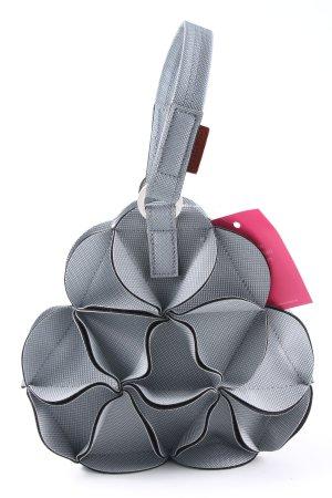 Mini Bag light grey-black check pattern extravagant style