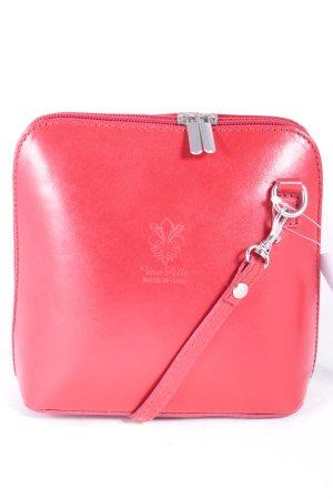 Minitasche rot minimalistischer Stil