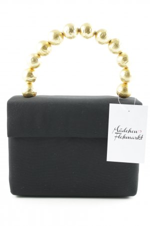 Minitasje zwart-goud elegant