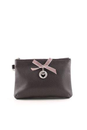 Mini sac brun noir style décontracté