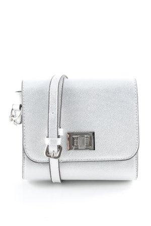 Mini Bag silver-colored elegant