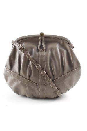 Minitasche taupe schlichter Stil