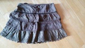Zara Basic Mini rok olijfgroen