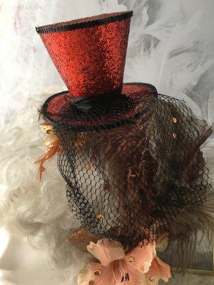 Accessoire pour cheveux rouge-noir