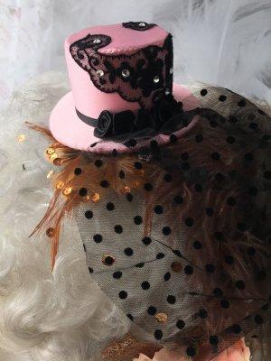Accessorio per capelli rosa-nero
