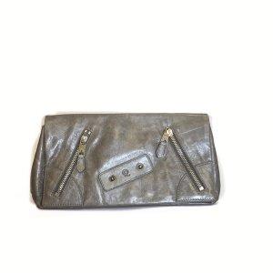 Alexander McQueen Bolso de mano marrón grisáceo
