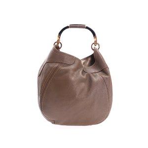 Mink Jimmy Choo Shoulder Bag