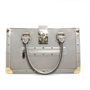 Louis Vuitton Borsa a tracolla marrone-grigio