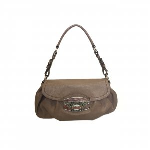 Mink Prada Shoulder Bag