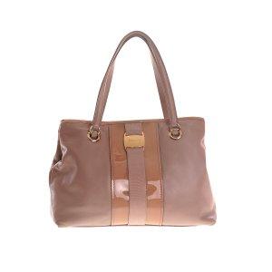 Mink Salvatore Ferragamo Shoulder Bag