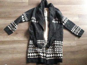 Minkpink Cardigan Strickjacke Strickmantel Ikat Strick Knit M/L