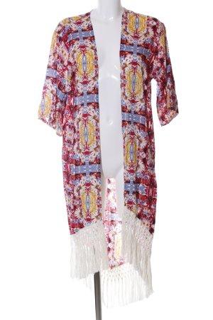Minkpink Kimono Mélange de motifs style décontracté