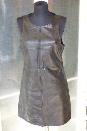 MINKPINK Lederkleid aus Kunstleder schwarz Gr.L