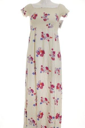 Minkpink Maxikleid florales Muster Street-Fashion-Look